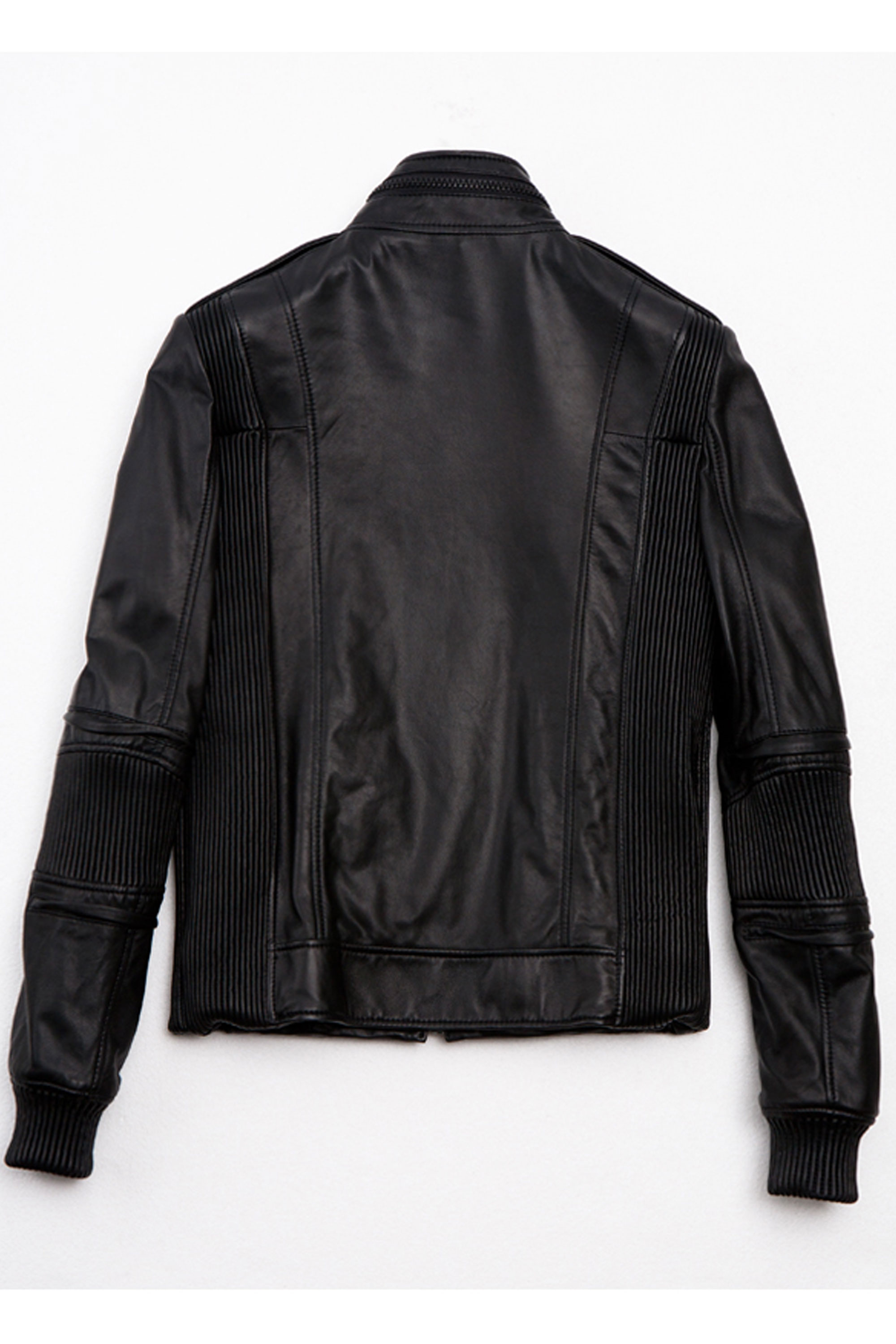 05F/W BIKER LEATHER JACKET
