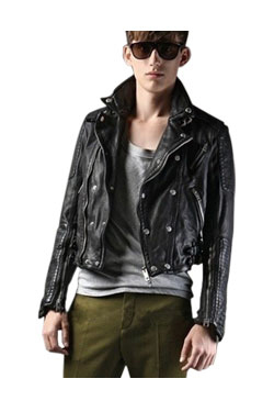[8차 리오더]TUMBLED DOUBLE BIKER JACKET(숏버전)