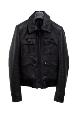 [리오더]JUSTICE LEATHER BLOUSON