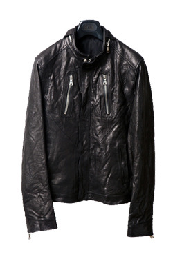[리오더]11SS LEATHER JACKETblack color