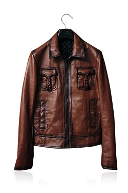 05'F/W Promotion Type Leather Jacket