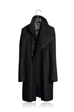 Overapping Drap Coat