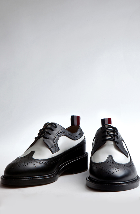 14ss THOM BROWN*달마시안 WINGTIP SHOES