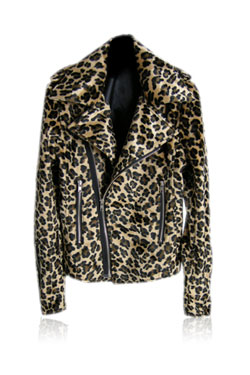 Leopard riders jacket