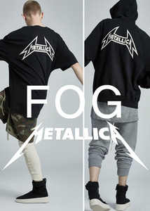 17SS FEAR OF GOD X PACSUN X METALLICA  OVERFIT T-SHIRTS  예약시 5% 할인쿠폰 증정  comming soon
