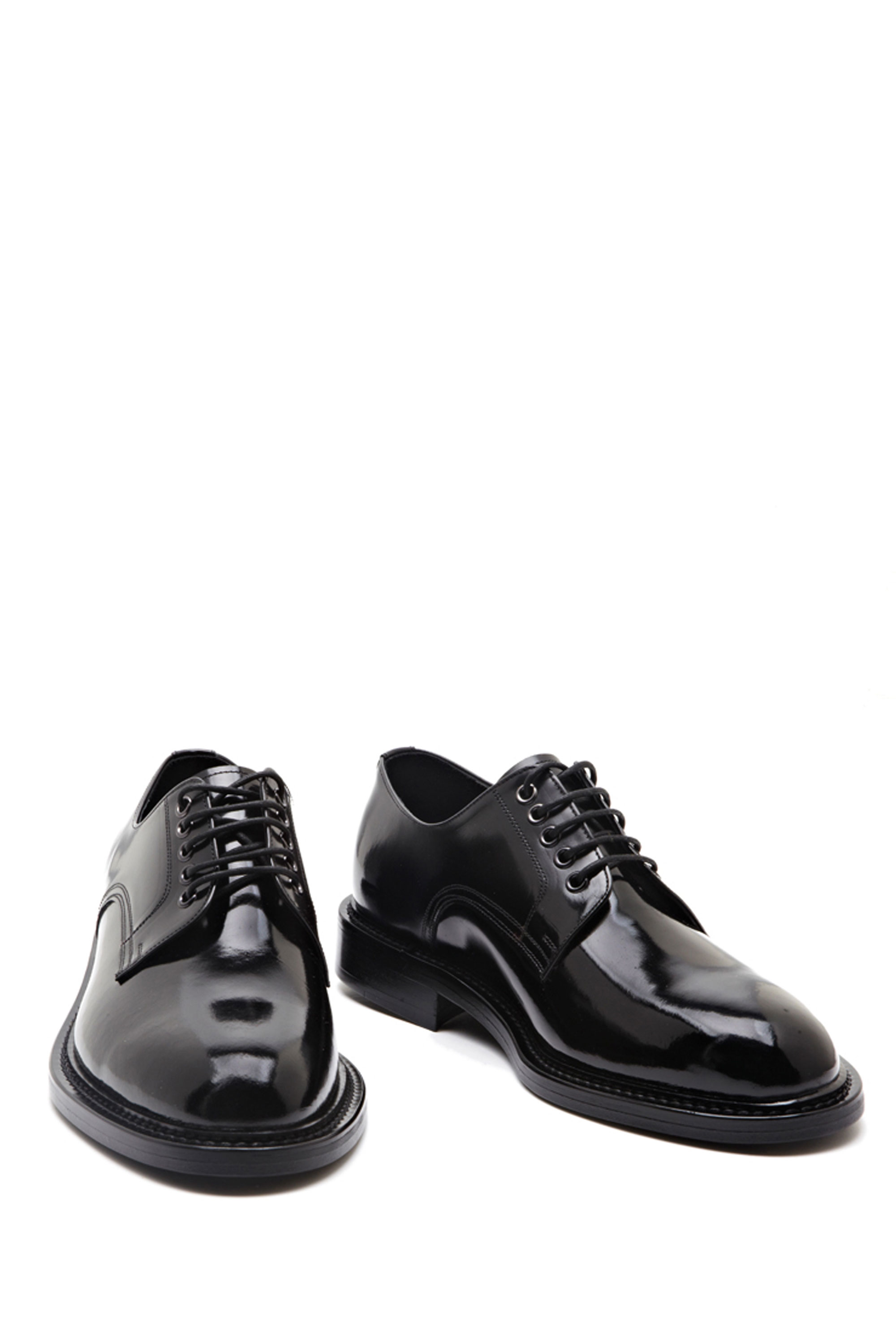 Saint lauren* laceup derby shoes