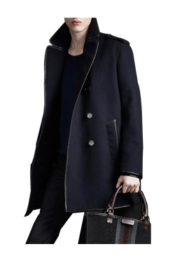 [리오더]Prorsum piping half coat