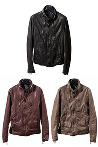 [2차결제]11FW LEATHER JACKET