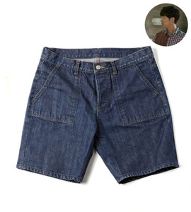 A.P.* Denim short pants