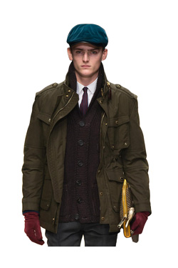 12FW PRORSUM WAXED COTTON FIELD JACKET