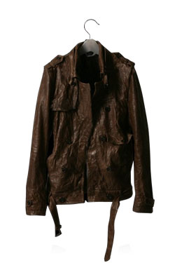 Buffalo Brown Leather Jacket
