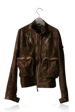 06S/S Vintage Leather Jacket