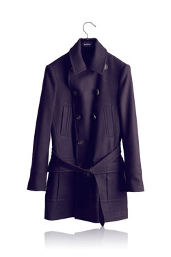 ALEXANDER PURPLE COAT