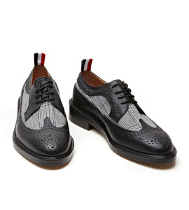 Thom brown* check wingtip shoes