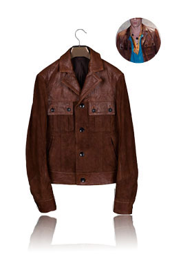 Brown collection jacket