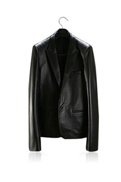 Leather Tube Jacket