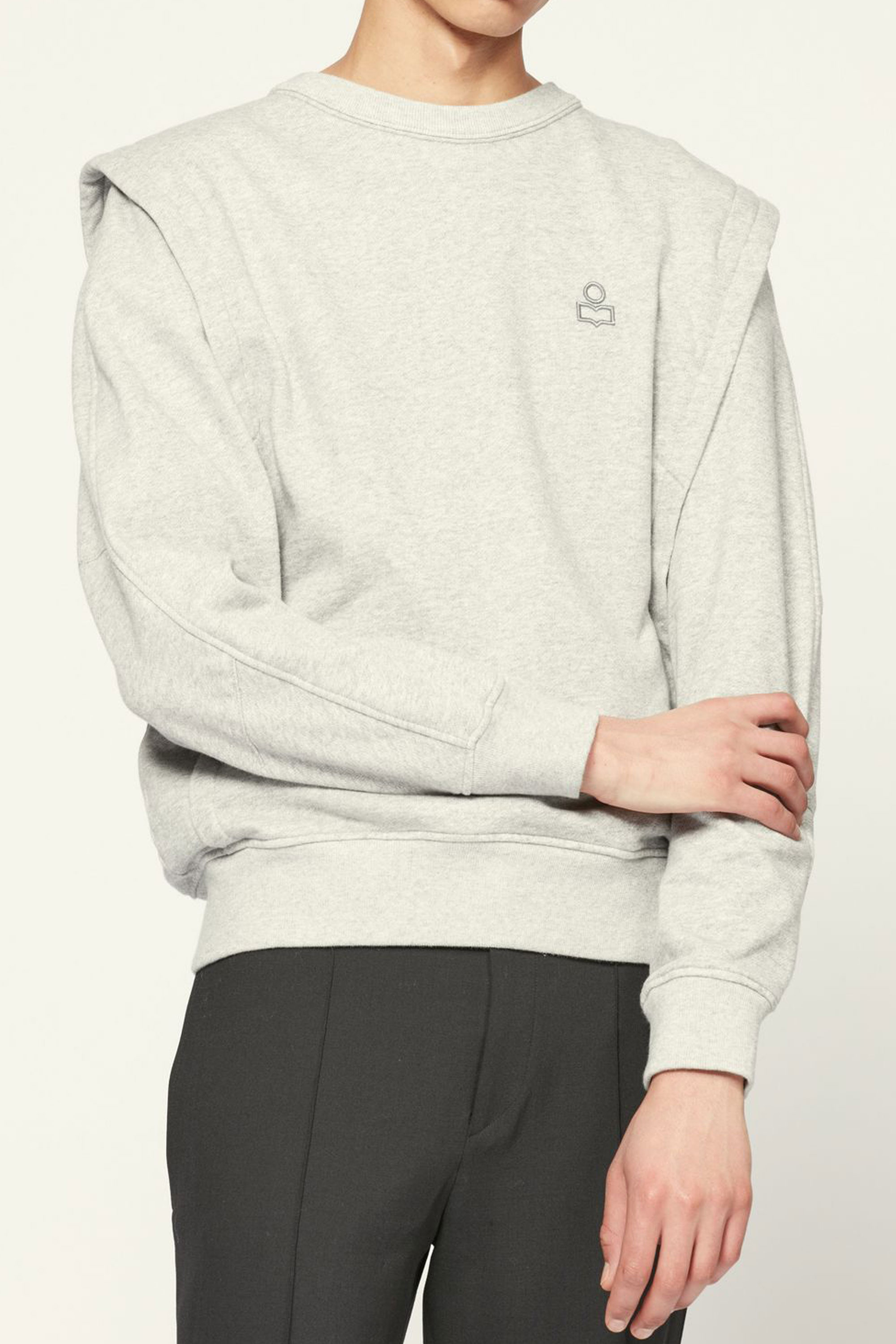 I.Marant MIBBER Sweat shirts  2 corlor (Grey & Faded Black)  발매전 게시글 예약시 5%할인쿠폰 증정