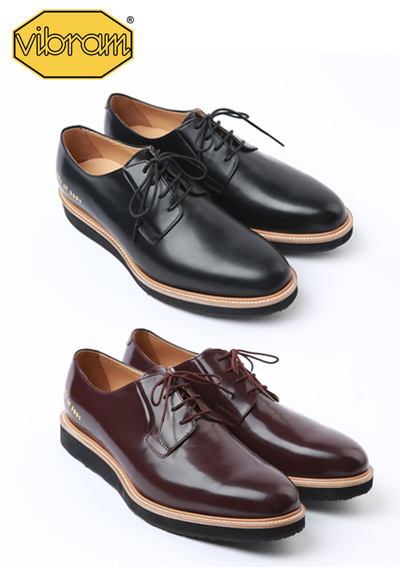 커먼 프로젝* Derby shoesblack,burgundy 2color