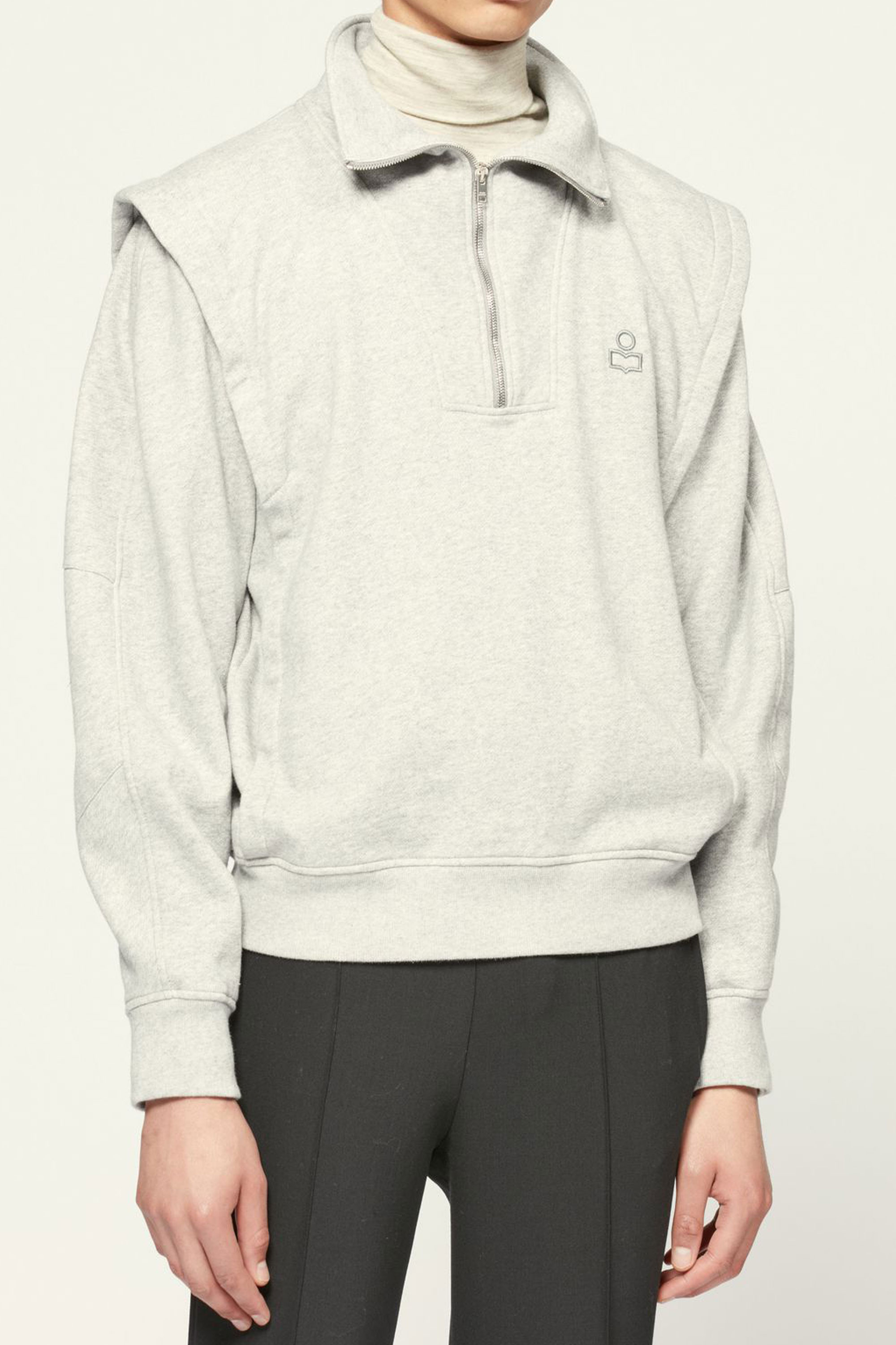 I.Marant MANAHIR Sweat ZIP-UP  2 corlor (Grey & Faded Black)  발매전 게시글 예약시 5%할인쿠폰 증정